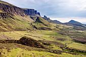 The Quiraing, Trotternish Peninsular\nIsle of Skye, Inner Hebrides\nScotland, UK\nLA006375\n