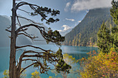Long Lake\nJiuzhaigou National Park\nSichuan, China\nLA007658\n