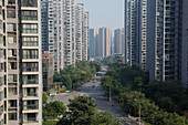 High Rise Apartment Blocks\nChengdu City\nSichuan Province\nChina\nLA008744