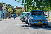 Vintage car, Varadero, Cuba