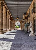 Passage at Plaza Vieja, Havana, Cuba