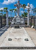 Grave at Santa Igenia Cemetery, Santiago de Cuba, Cuba