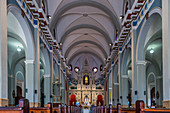 Inside the Basilica El Cobre, Cuba