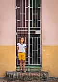 Cuban girl, Camagüey, Cuba