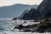 Coumeenoole Bay on the Dingle Peninsula, County Kerry, Ireland