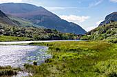 Lake along Gap of Dunloe Road, County Kerry, Ireland, Europe