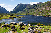 Black Lake along Gap of Dunloe Road, County Kerry, Ireland, Europe