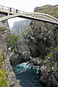 Mizen Bridge, Cliffs at Mizen Head, County Cork, Ireland, Europe