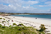 Beach at Gurteen Bay, Roundstone, County Galway, Ireland