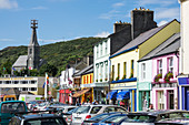 Colorful houses in Clifden, Connemara, County Galway, Ireland