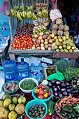 Fruit and vegetable stall, Watamu, Malindi, Kenya