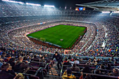 FC Barcelona home game at Estadio Nou Camp in Barcelona, Spain
