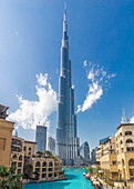 The Burj Khalifa in Dubai, UAE