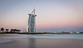 Early in the morning at Burj al Arab in Dubai, UAE