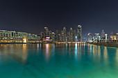 The Burj Lake in Dubai, UAE