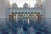 Sheikh Zayed Mosque in Abu Dhabi, UAE