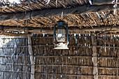 Lamp in the Heritage Village in Abu Dhabi, UAE