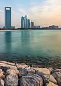 View of the Emirates Palace in Abu Dhabi, UAE