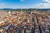 Panoramic view over Florence, Italy