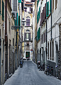 Small streets of Florence, Italy