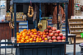 Fruit stand in Madaba, Jordan