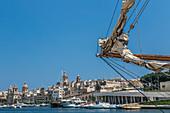 At the port of Senglea, Malta