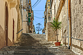 In the back streets of Senglea, Malta