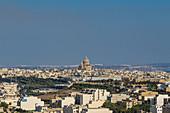 Cityscape of Victoria, the capital of Gozo Island, Malta