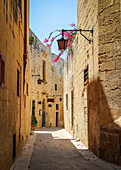The beautiful streets of Mdina, Malta