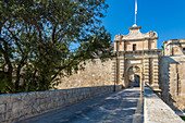 The entrance to the medieval city of Mdina, Malta