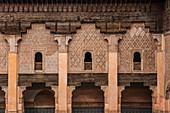 The old Koran school Medersa Ben Youssef in the medina of Marrakech, Morocco