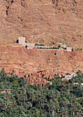 Die Oasenstadt Tinghir, Marokko
