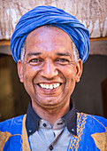 Portrait of a berber in Tinghir, Morocco