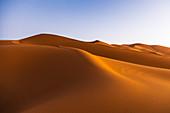 The Erg Chebbi dunes, Sahara, Morocco