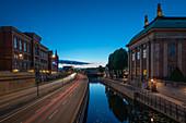 Blick auf das Riddarhuset in Stockholm, Schweden