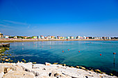 Beach in front of Caorle, Veneto, Italy