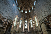 Inside the Convento do Carmo in Lisbon, Portugal