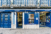 The city's most famous pastry shop and birthplace of Pasteis de Belem, Lisbon, Portugal