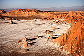 "Mirador Achaches, ""Valle de la Luna"" (Moon Valley), San Pedro de Atacama, Atacama Desert, Antofagasta Region, Chile, South America"