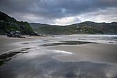 Playa Bahia Mansa Beach, Chile, South Pacific, Pacific Ocean, South America