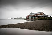Theater at Llanquihue Lake (Teatro del Lago), Region de los Lagos, Chile, South America