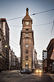 Reloj Turri bell tower, Valparaiso, Chile, South America