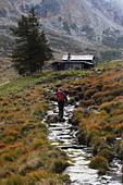 Ascent on Via Mala to the Splügen Pass, Graubünden
