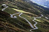 Road to the Splügen Pass, Graubünden