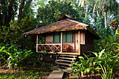 Bungalow of the Walindi Plantation Resort, Kimbe Bay, New Britain, Papua New Guinea
