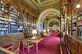 France, Paris, Luxembourg palace, the Senate, the library