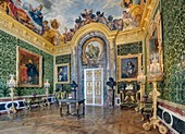 Frankreich, Yvelines, Château de Versailles, von der UNESCO zum Weltkulturerbe erklärt, Salon de l'Abondance (Salon des Überflusses)