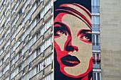France, Paris, Street Art, OBEY, fesco