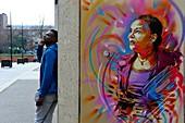 France, Val de Marne, Vitry sur Seine, Street Art,