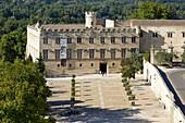 France, Vaucluse, Avignon, the Petit Palais museum, historical monument